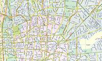 نقشه تهران 96 با کیفیت بالا