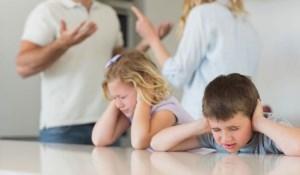 اختلافات والدین و روحیه کودکان