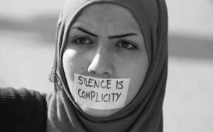 سکوت، خیانت و همدستی است!