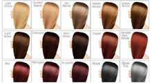 رنگ  موی مناسب برای انواع پوست های تیره و روشن