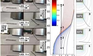 کنترل روباتهای نرم با استفاده از میدانهای مغناطیسی