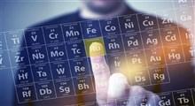 عناصر و آخرین جدول تناوبی تعریف شده برای آنها