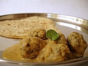 طرز تهیه غذای ملل کوفته کاری(هندی)