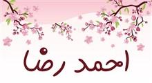 معنی اسم احمدرضا و نام های هم آوا با آن + میزان فراوانی در ثبت احوال