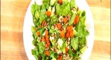 گیاه کاسنی فرنگی و طرز تهیه یک نوع سالاد با استفاده از آن