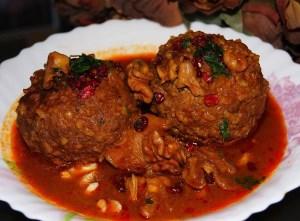 طرز تهیه غذای محلی کوفته تبریزی (آذرباییجانی)