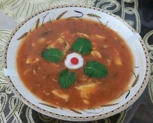 طرز تهیه غذای محلی خورشت ترشی (گیلانی)