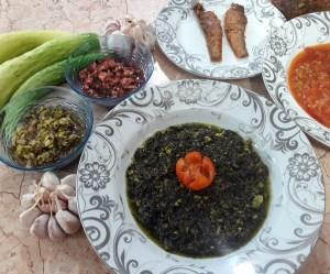طرز تهیه غذای محلی چوواش تره (گیلانی)