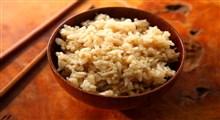 از خواص برنج قهوه ای چه می دانید؟