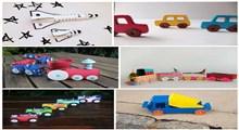 اسباب بازی هایی که می توانید با استفاده از وسایل خانه بسازید