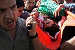 نورانیت غزه با خون شهیدان