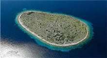 جزیره ای که مانند یک اثر انگشت غول پیکر ساخته شده است
