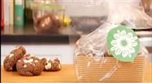 دستور تهیه شیرینی شکلاتی نعنایی با تکه های شکلات سفید