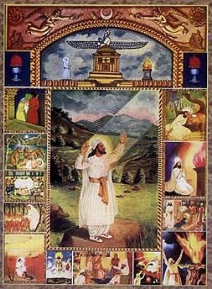 توصیف بهشت در دین زرتشتی چیست