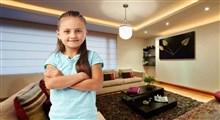 نکات آموزشی برای تنها ماندن کودکان در خانه