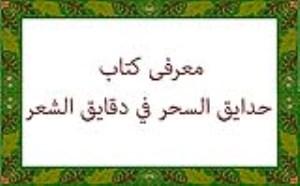 معرفی کتاب حدایق السحر فی دقایق الشعر