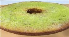 دستور پخت کیک چای سبز