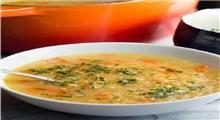 دستور پخت سوپ عدس قرمز و هویج