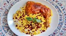 دستور پخت زرشک پلو با مرغ