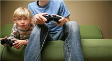 با فرزندان خود بازی های ویدئویی کنید