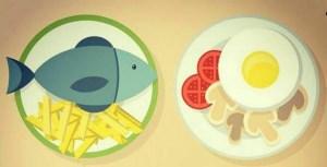 تخم مرغ و ماهی را باهم نخورید