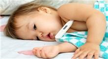 تب نوزاد،علائم و درمان آن