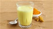 فواید خوردن شیر زردچوبه