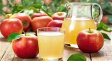 معرفی فواید و مضرات آب سیب