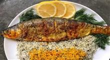 طرز تهیه ی سبزى پلو با ماهى