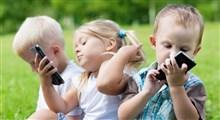 نکاتی راجع به چگونگی استفاده کودکان از تلفن همراه