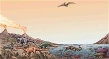یک فصل دایناسوری از زمین