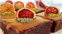 دستور پخت کیک پرتقالی با کاپوچینو