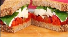 دستور تهیه سه نوع ساندویچ خانگی بسیار سالم و خوشمزه