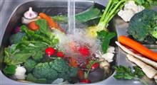 نحوه شستشوی صحیح میوه ها و سبزیجات
