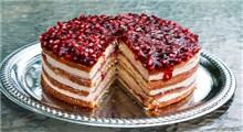 دستور پخت کیک با طعم انار
