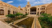خانه اقازاده باشکوه ترین خانه تاریخی در ابر کوه یزد