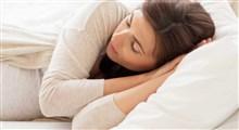 بهترین شیوه خوابیدن در دوران بارداری