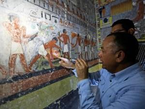 نکاتی درباره مقبره ۴۰۰۰ ساله مصری