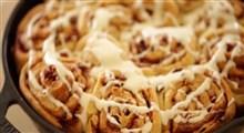 دستور پخت نان دارچینی