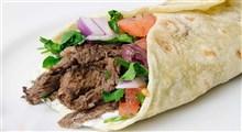 طرز تهیه ساندویچ شاورما مکزیکی