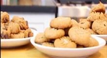 دستور تهیه سه مدل شیرینی کره بادام زمینی