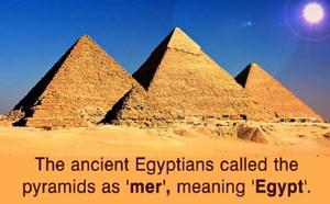 اطلاعاتی از اهرام مصر