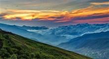 فیلبند طبیعتی زیبا و رویایی میان ابرها