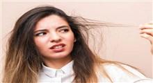 از علت تا درمان خشکی مو