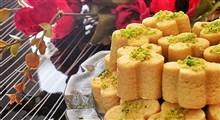 طرز تهیه سه مدل شیرینی عید
