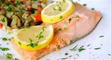 طرز تهیه ماهی بخارپز در قابلمه و فر