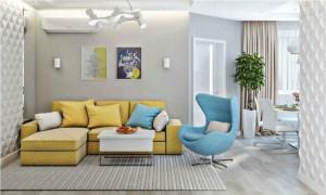 تاثیرات روانشناسی رنگها در طراحی داخلی خانه