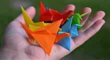اوریگامی: ریاضیات در چین خوردگی ها، و امکان استفاده در روبات ها