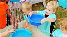 نقش آب بازی در خلاقیت کودک