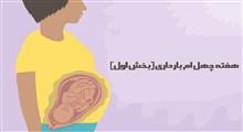 مراقبت های هفته چهلم بارداری (بخش اول)